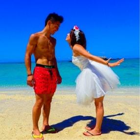 石垣島幻の島へ上陸
