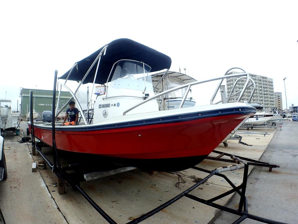 ライズの新ボートlaid-back号