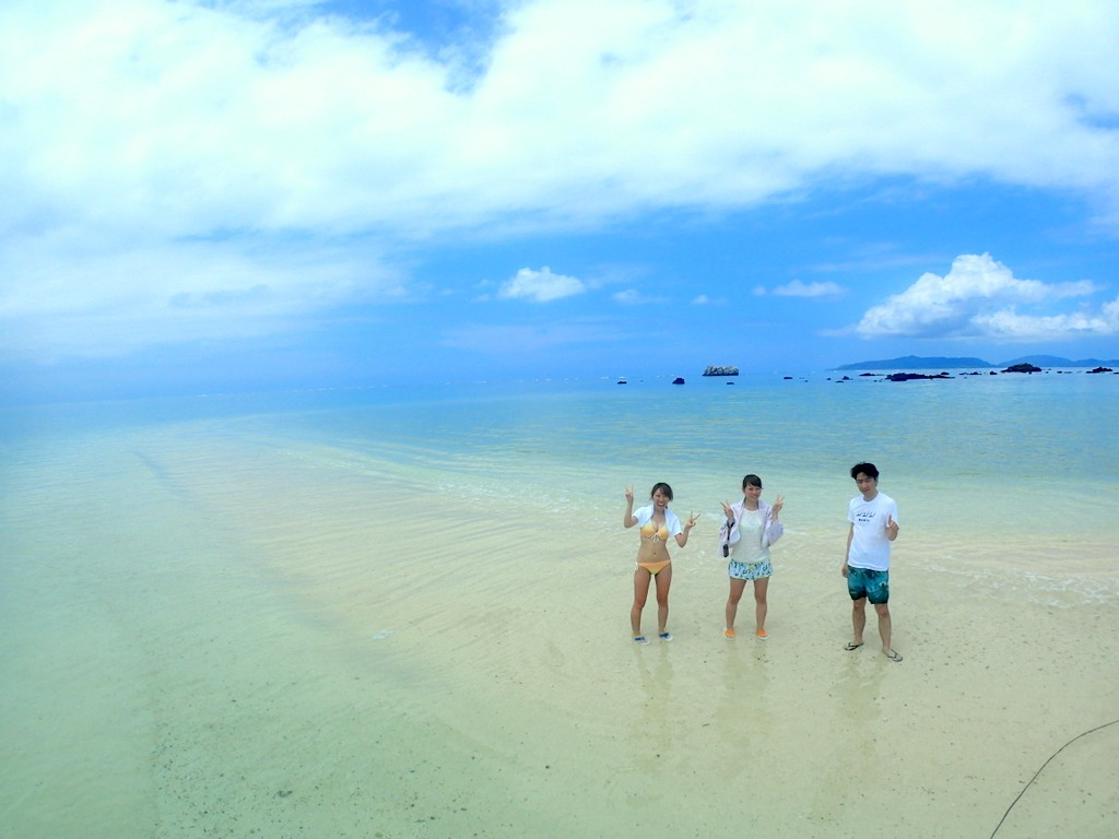 幻の島ツアー!