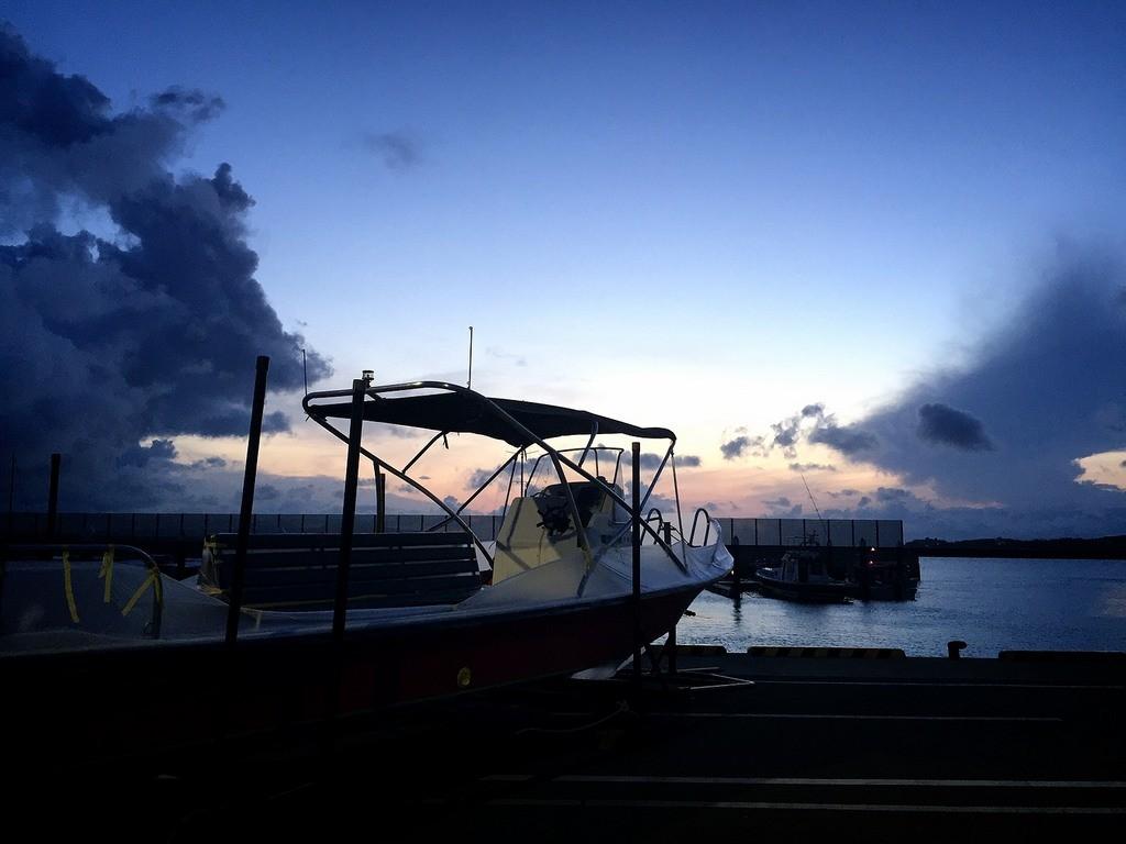 ライズ石垣島の新ボート、トイレ付き