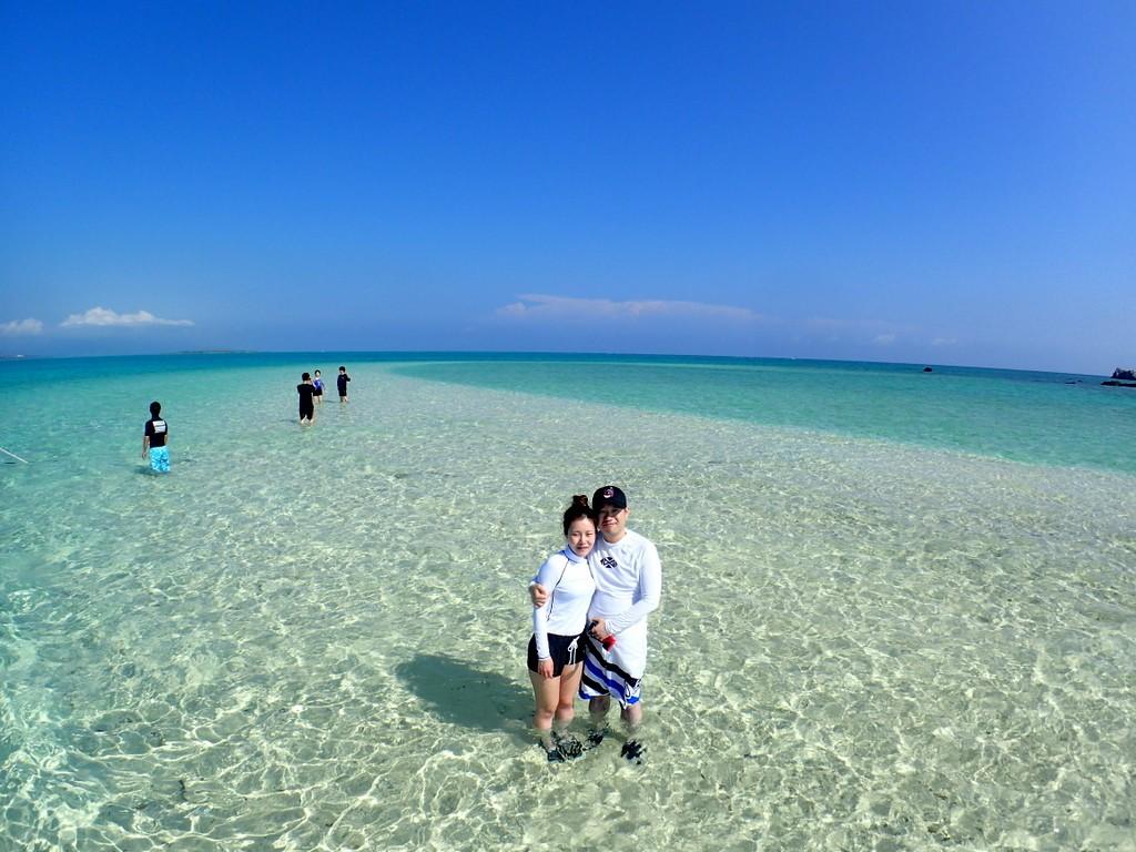 晴天の幻の島!