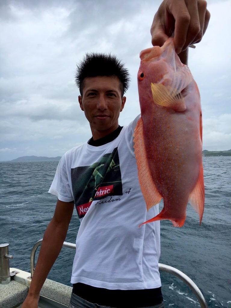 釣りで赤ミーバイ