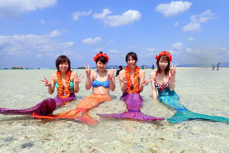 幻の島でマーメイド!