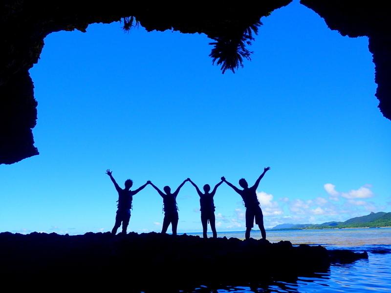 石垣島青の洞窟-その①