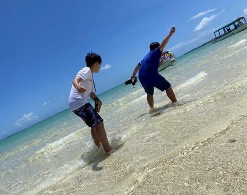 ご来店M様(釣り&幻の島シュノーケル)