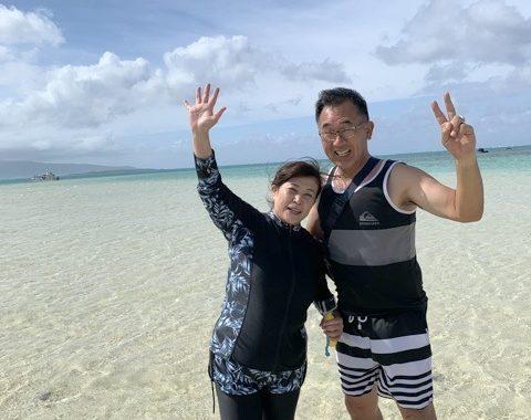 2020年10月20日ご来店S様(幻の島シュノーケリング)